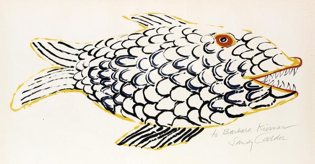 Alexander Calder, 'Le Poisson', 1975, Swann Auction Galleries