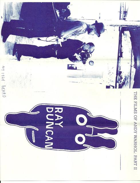 Ray Johnson, 'Mail Art + Ephemera, Dear Raphael Rubinstein at Art In America (My 1964 Beard)', ca. 1995, Drawing, Collage or other Work on Paper, Mixed media on paper, Pierogi