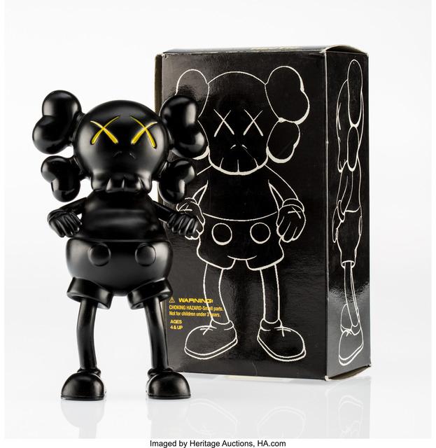 KAWS, 'Companion (Black)', 1999, Heritage Auctions