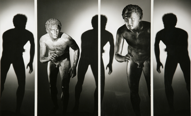 , 'Atleti dalla Villa dei Papiri,' 1986, Vistamare