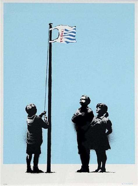 Banksy, 'Very Little Helps', 2008, Tanya Baxter Contemporary