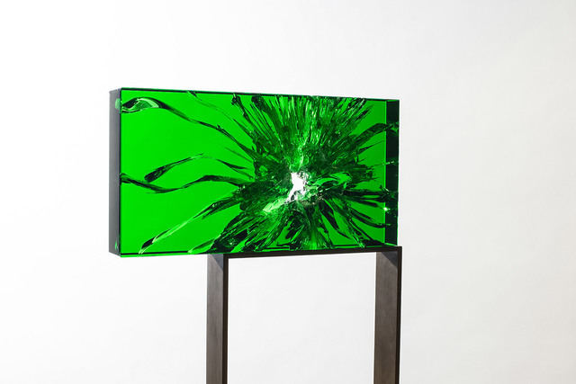 , 'EMERALD RADIANT FRACTOGRAPH #3,' 2018, Traver Gallery