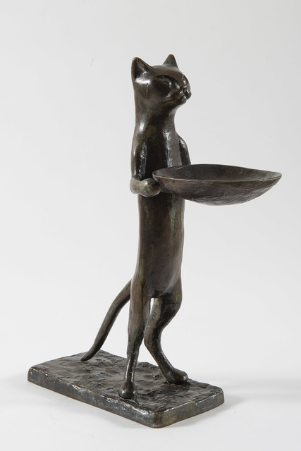 Diego Giacometti, 'Chat maître d'hôtel', 1957, HELENE BAILLY GALLERY
