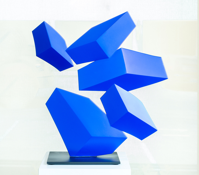 Rafael Barrios, 'Obtuse', 2018, Sculpture, Hand-lacquered steel, Art Of The World Gallery