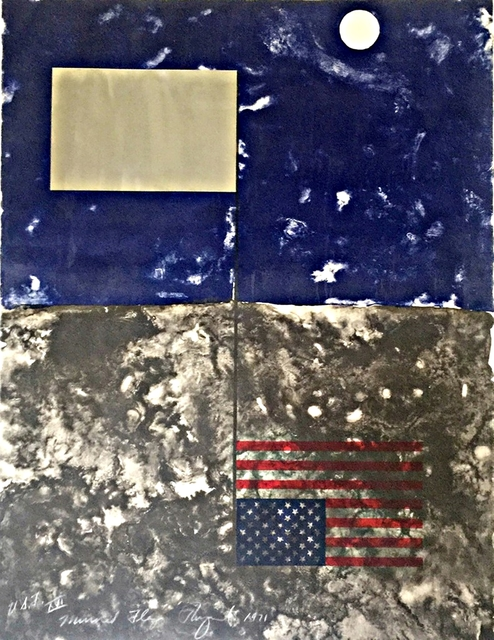 , 'Mirrored American Flag (from Cold Light Series) ,' 1971, Alpha 137 Gallery