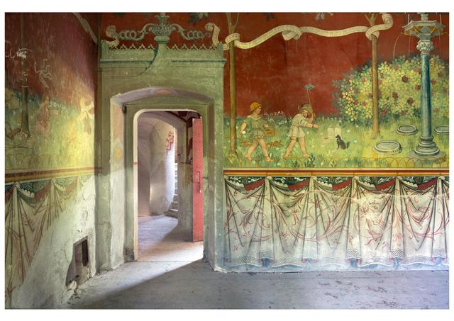 ", 'Castle (Rovasenda) from series ""Atlas italiae"",' 2013, MLB Home Gallery"
