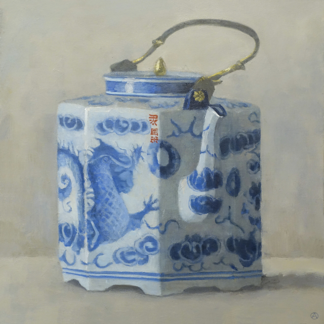, 'Teapot with Dragon,' 2015, Gallery Henoch