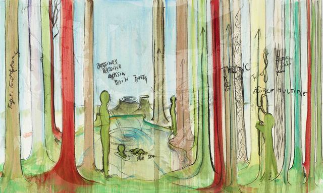 , 'Bassin, Bessines,' 2018, Galerie Nathalie Obadia