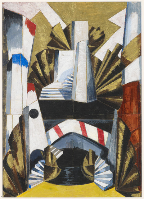 , 'Stage Design for 'Romeo and Juliet',' 1921, Annely Juda Fine Art