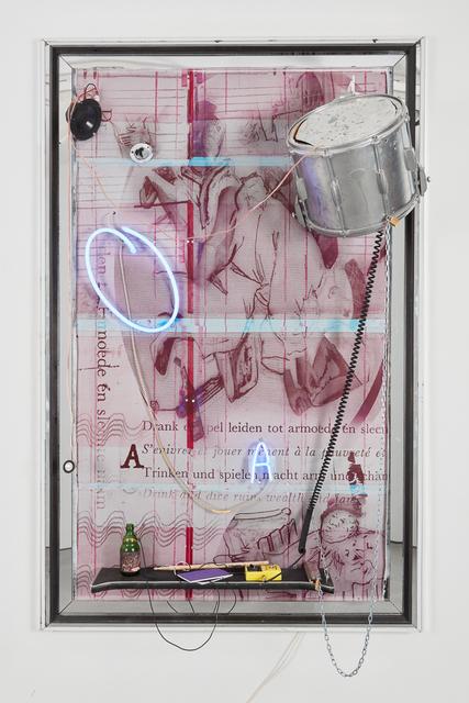 Joris Van de Moortel, 'Pardaf, pets, patat, plets, plof, klap, klop, lap, mep, floep', 2018, Galerie Nathalie Obadia