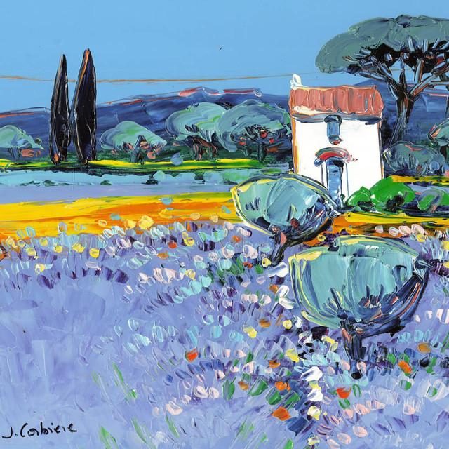 , 'La cabane aux oliviers et lavandes,' 2016, Carre D'Artistes