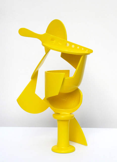Ron Robertson-Swann, 'Gonzalez's absinthe glass', 2014, Sculpture, Painted Steel, Charles Nodrum Gallery