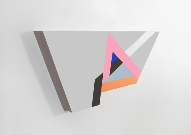 """, '""""Polygon in Space #27"""",' 2015, Circuit12"""