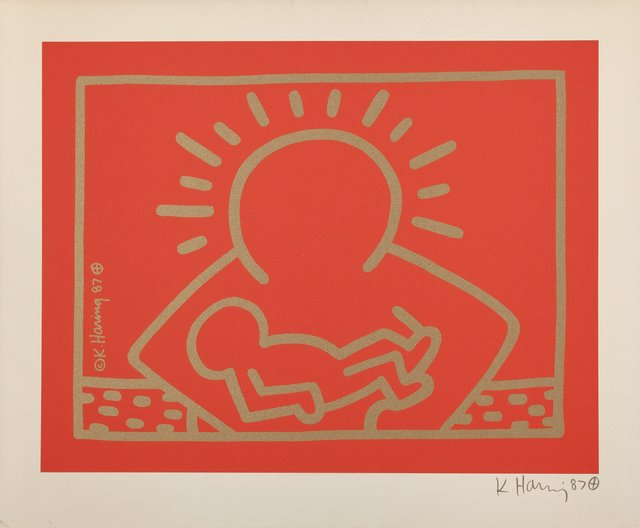 Keith Haring, 'A Very Special Christmas', 1987, Heritage Auctions
