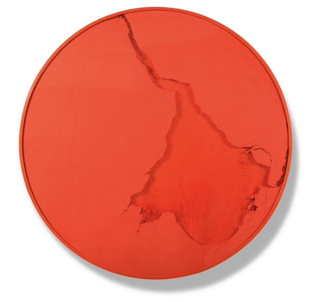 , 'Cercle Rouge Vermillion,' 2015, Heather Gaudio Fine Art