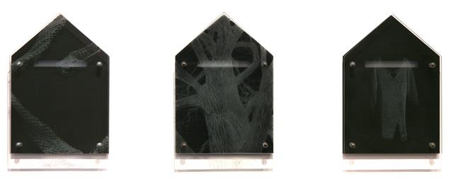, 'Ghost House/Armor Study: World Tree #1 (negative) ,' 1995, David Richard Gallery