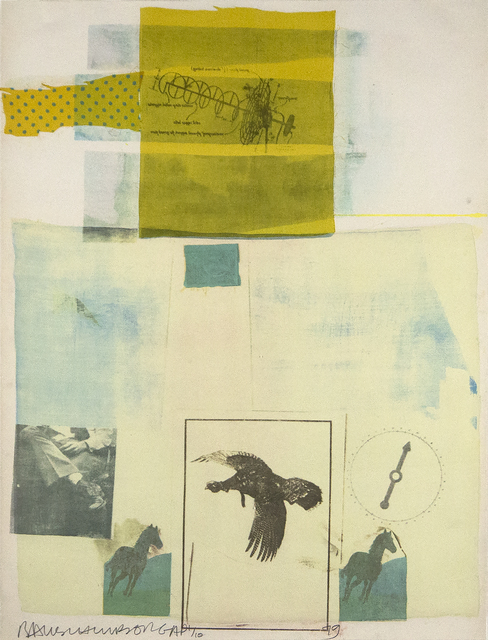 Robert Rauschenberg, 'Why You Can't Tell #1, from portfolio of nine prints', 1979, Heather James Fine Art Gallery Auction