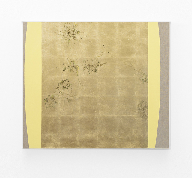 , 'Hair orchid sweat print, yellow form,' 2018, SMAC