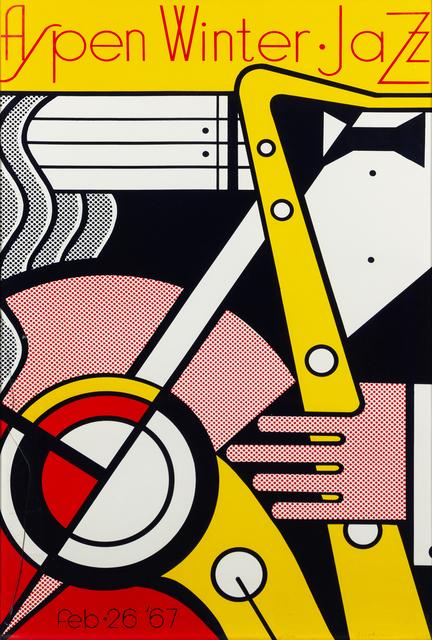 Roy Lichtenstein, 'Aspen Winter Jazz', 1967, Hindman