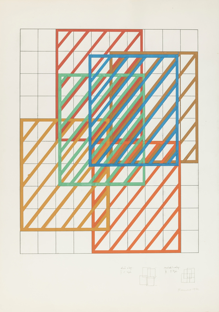 , 'Displacement I-II/II,' 1972, Vintage