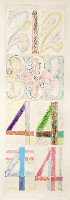 Kishi Ui, '212 Fed High  (2123334444)', 2015, Drawing, Collage or other Work on Paper, Color pencil and acrylic, Court Tree Collective