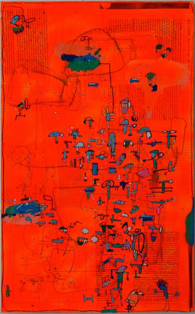 , 'Caidos,' 2016, Allouche Gallery