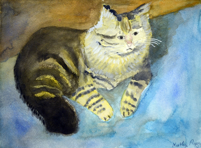 , 'Sandy Cat,' 2013, Fountain House Gallery