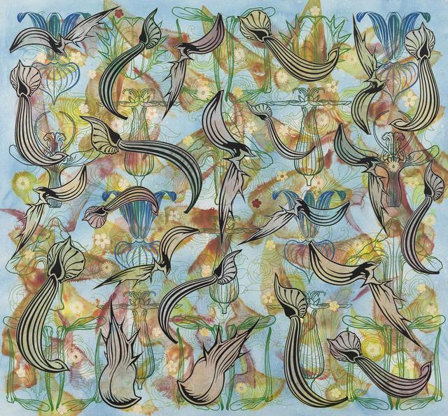 , 'Flowering Loculus,' 2010-2011, Gagosian Gallery