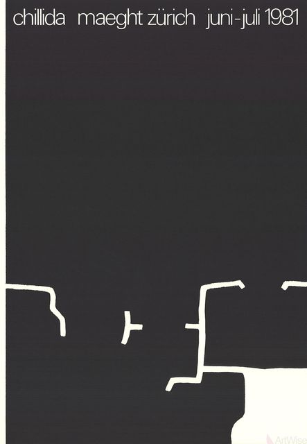 Eduardo Chillida, 'Maeght Zurich', 1981, ArtWise