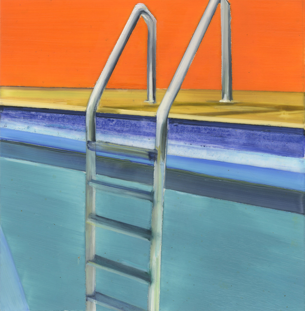 , 'Pool Ladder 1,' 2017, New York Academy of Art