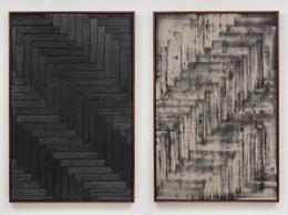 , 'Burnt Painting,' 2012, Ghebaly Gallery
