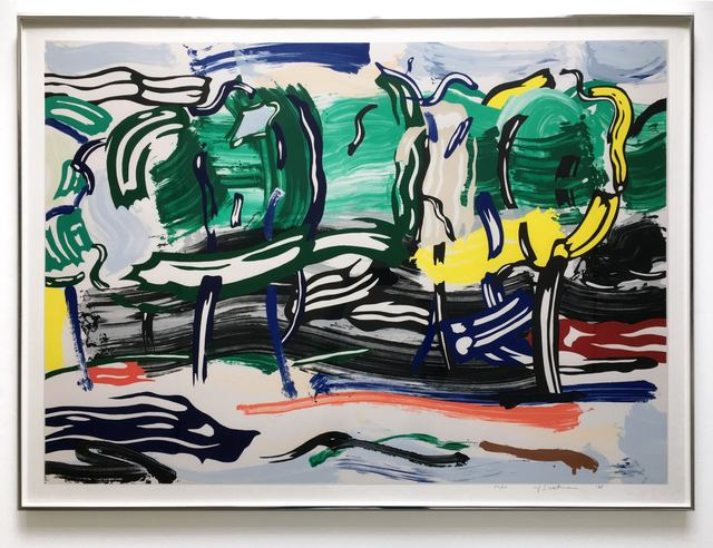 Roy Lichtenstein, 'Road Before The Forest (from Landscapes series) (Cortlett 213)', 1985, Joseph K. Levene Fine Art, Ltd.