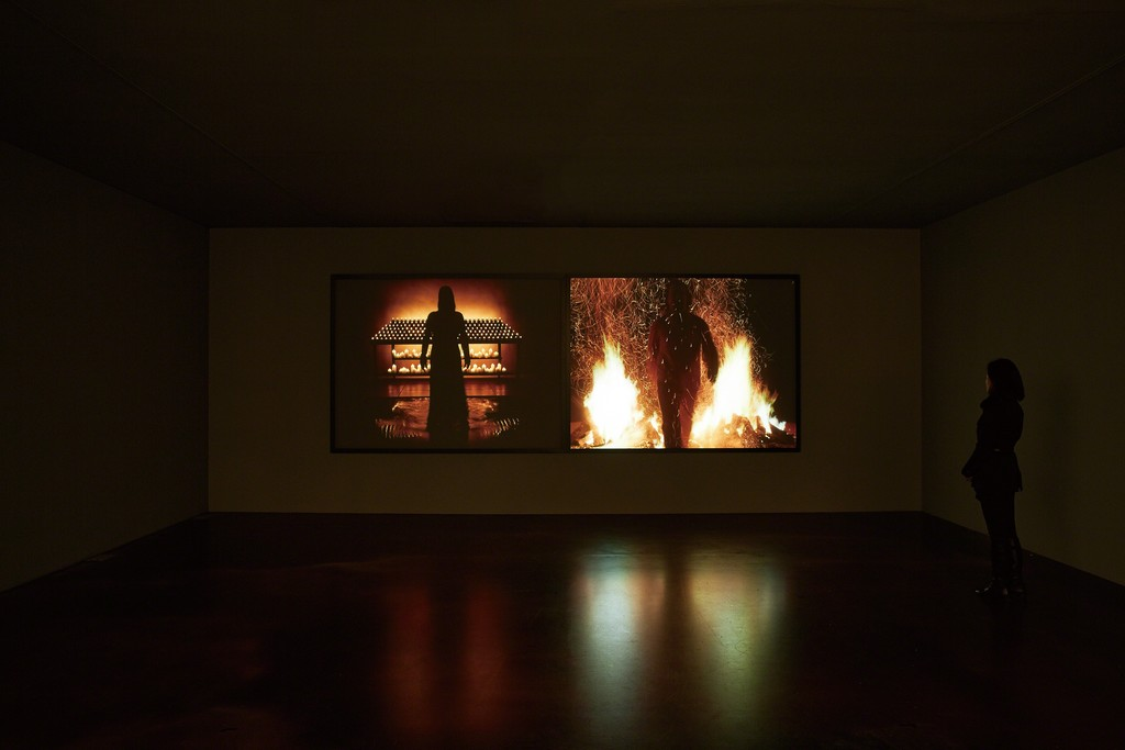"Installation view of ""Night Vigil"", K2"
