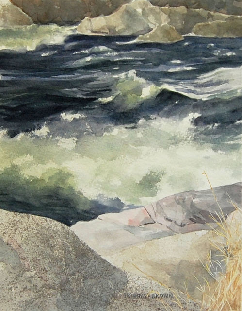 , 'Below the Falls,' 2018, Canal Street Art Gallery