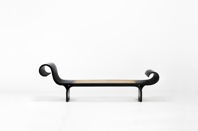 ", 'Bench model ""Marquesa"",' 1971, Side Gallery"