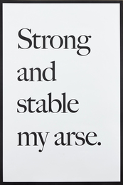 Strong and Stable my Arse