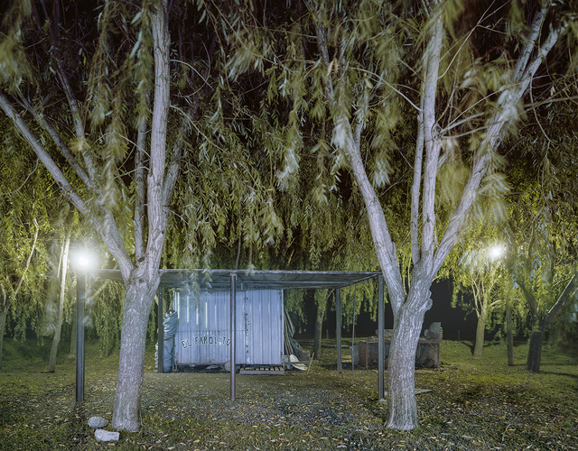 , 'Carrito El Farolito at Night, Rte. 11, Maciel, Santa Fe Privince, Argentina,' 2012, Robert Klein Gallery