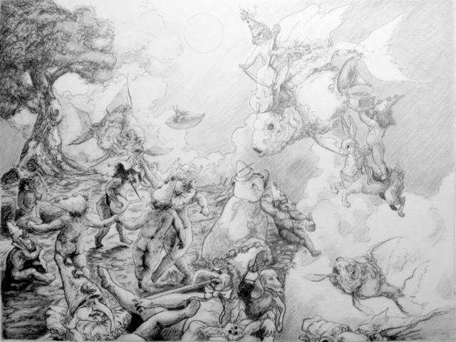 , 'Yonder (Study),' 2014, Ro2 Art