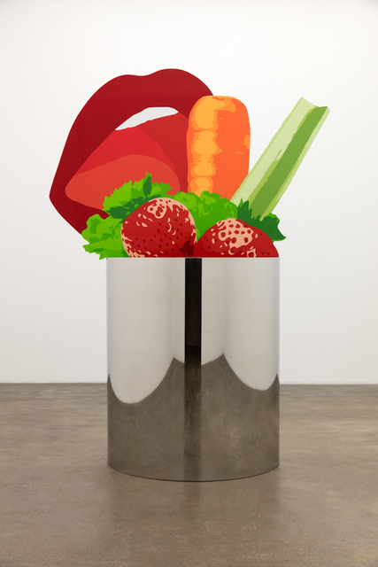 , 'Lip Carrot,' 2015, Gladstone Gallery