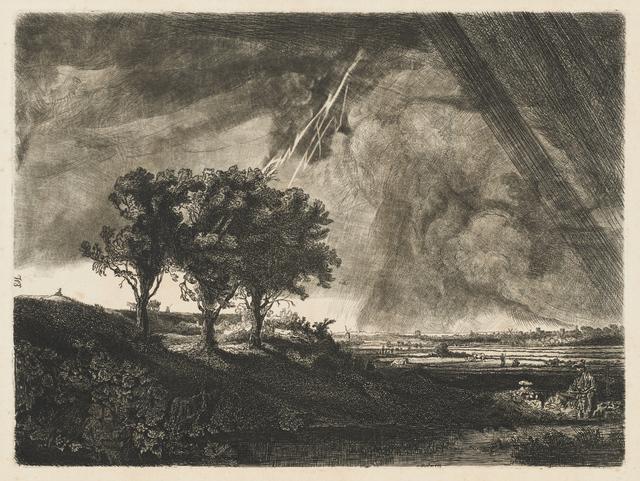 , 'The Three Trees,' ca. 1800, Clark Art Institute