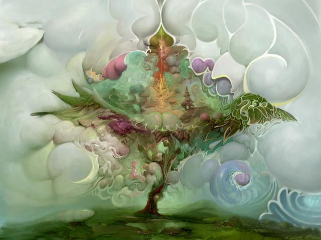Burton Gray, 'Tree of Life', 21st century, Print, Digital painting, bG Gallery