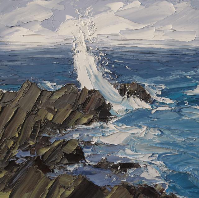 , 'Wave Slope,' 2017, Thackeray Gallery