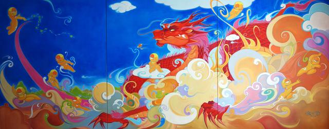 , 'Awakened Dragon,' 2013, City Art Gallery Singapore
