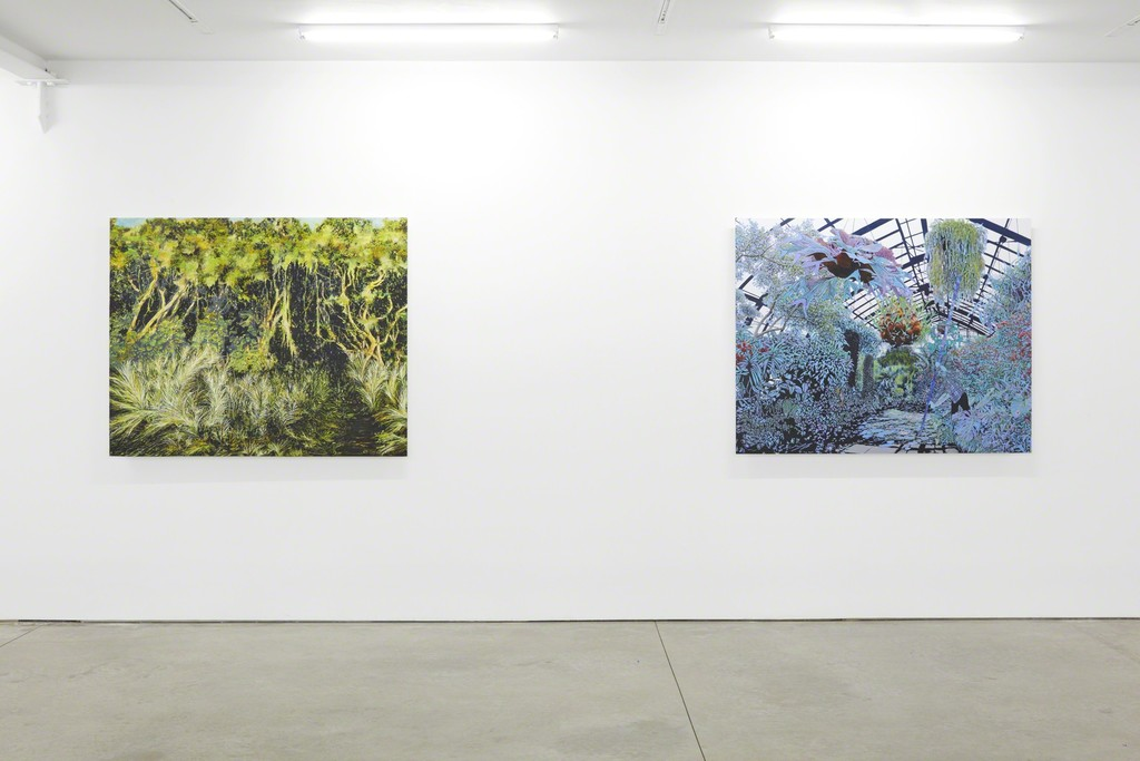 Bradley Castellanos, installation view of Sunshine State, 2017. (c) Bradley Castellanos; Courtesy of the artist and RYAN LEE, New York.
