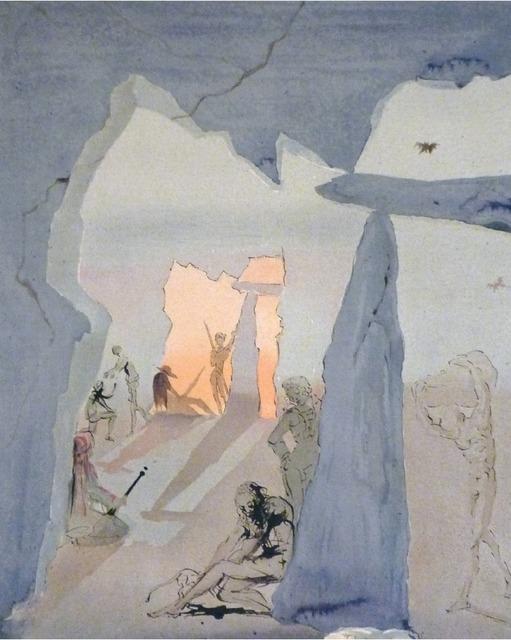 , 'Smuggler's Meeting,' 1970, Imaginart Gallery