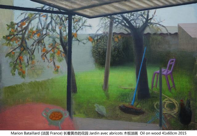 , '长着黄杏的花园 Jardin avec abricot,' 2015, Amy Li Gallery