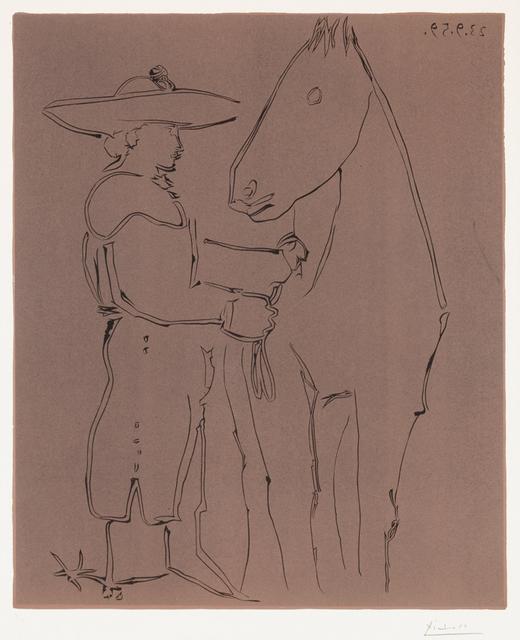 , 'Picador et cheval (Picador and Horse), 1959,' 1959, Masterworks Fine Art