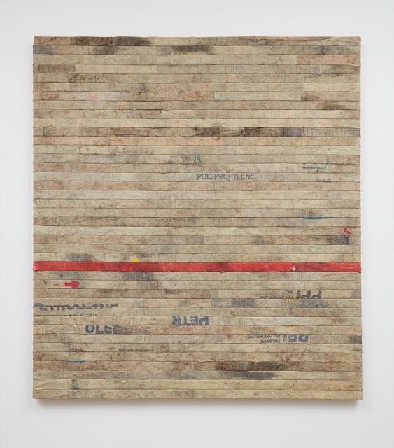 , 'reading in-between the line,' 2016, Sean Kelly Gallery