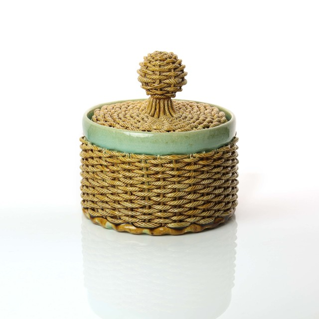 Kate Malone, 'Lidded Woven Jar', 2018, Adrian Sassoon