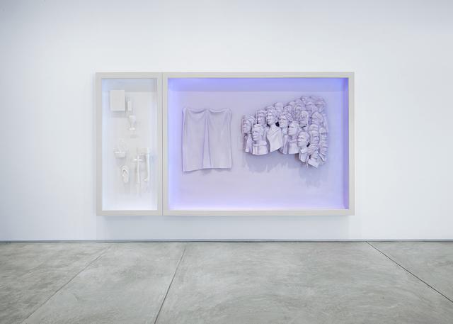 , 'we are see-through we never die,' 2015, Inman Gallery